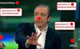 Josep Pedrerol, présentateur vedette de la plus connue des émissions de sport.