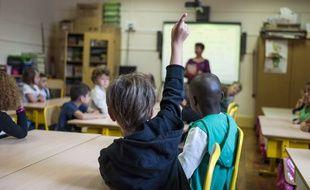 Une école primaire à Paris, le 2 septembre 2014.