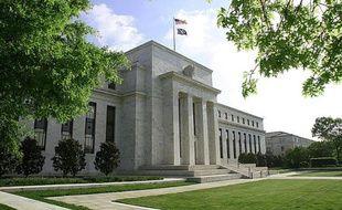 Le siège de la Réserve fédérale à Washington le 4 mai 2008