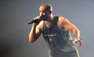 Drake en concert à l'O2 Arena de Londres en février 2017