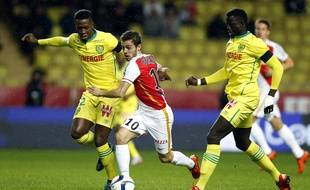 Le milieu de terrain Abdoulaye Touré face à Monaco, samedi soir.