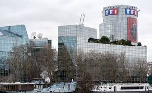 Siège de la chaîne TF1 à Boulogne Billancourt