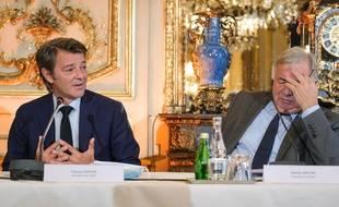 François Baroin et Gérard Larcher le 8 juillet 2020