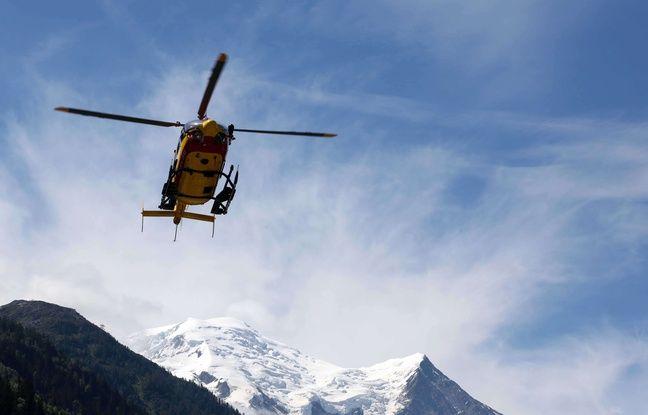 Alpes: Un alpiniste meurt dans une chute au Mont-Blanc, un autre est grièvement blessé