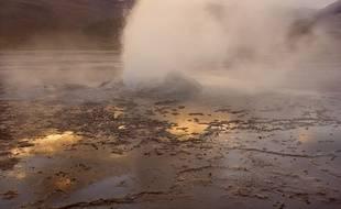 Les geysers du Tatio, au Chili.