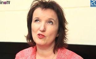 Anne Roumanoff, présidente du jury Les Impertinentes.