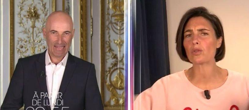 Nicolas Canteloup et Alessandra Sublet en mode confinés pour C Canteloup.