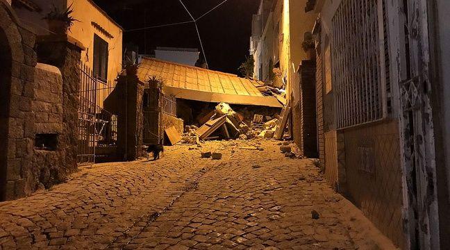 Un séisme de magnitude 3,6 a secoué l'île d'Ischia près de Naples où plusieurs bâtiments se sont effondrés. – AFP