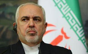 Le ministre iranien des Affaires, Javad Zarif, à Moscou le 24 septembre 2020.