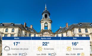 Météo Rennes: Prévisions du samedi 18 septembre 2021