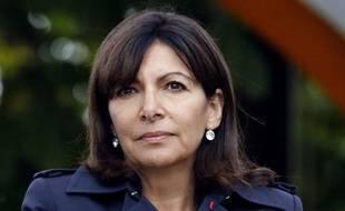 Anne Hidalgo à Paris le 26 juillet 2015.