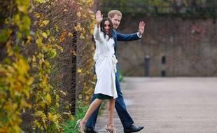 Le prince Harry et Meghan Markle, à Londres, en 2017.