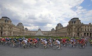 La dernière étape du Tour de France, le dimanche 27 juillet 2014.