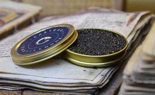 Le caviar de François René, fabriqué dans l'Hérault.