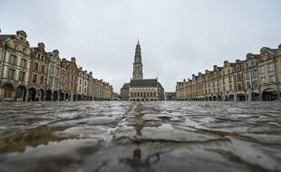 Le centre d'Arras était déjà vide le 4 mars.