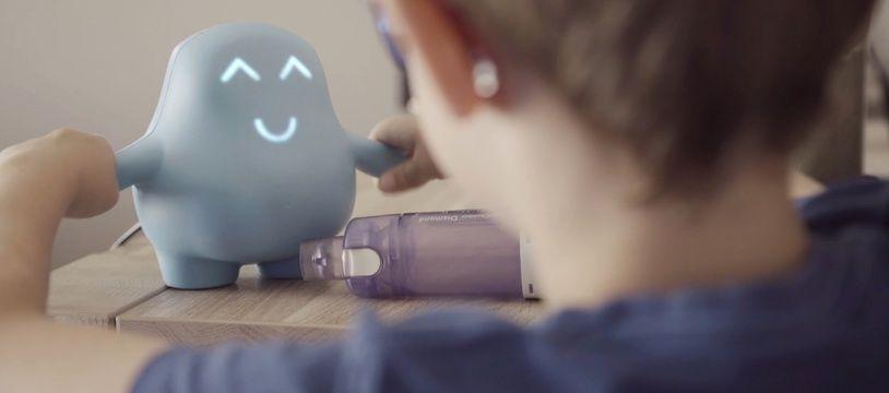 La société nantaise Meyko a inventé un bonhomme connecté pour les enfants malades
