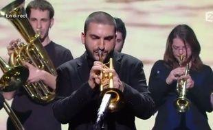 Ibrahim Maalouf aux Victoires de la Musique sur France 2 le 14 février 2014