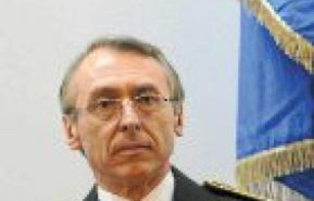 Claude Baland a été nommé directeur général de la police. –  WITT / SIPA