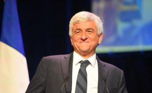 Hervé Morin, président de la région Normandie