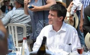Le Premier ministre Manuel Valls à Vauvert, dans le Gard, le 6 juin 2014.