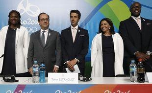 François Hollande a porté le dossier Paris 2024 à Rio