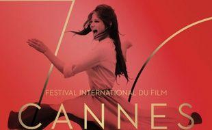 L'affiche de la 70e édition du Festival de Cannes