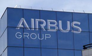Le logo d'Airbus group (Illustration).