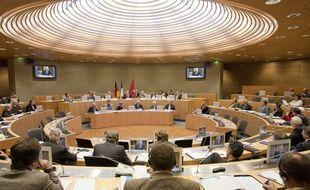 L'hémicycle du conseil régional d'Alsace, en 2008.