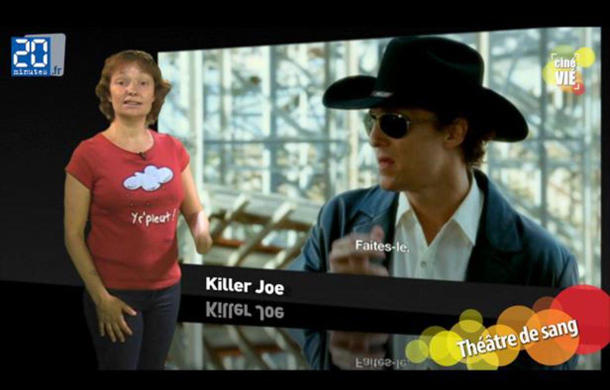 Caroline Vié décrypte Killer Joe de William Friedkin. – 20minutes