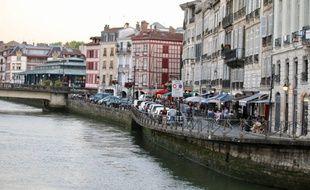 La ville de Bayonne, le 7 juillet 2020