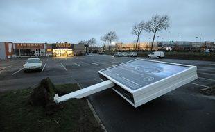 La tempête Leiv en Gironde (Illustration), le 4 février 2017