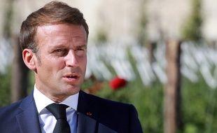 Emmanuel Macron, le 22 juillet 2020 à Chambord.