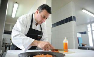 HAUTE GOULAINE, le 20/02/2012 Laurent SAUDEAU chef du Manoir de la Boulaie
