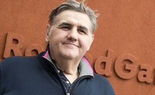 Pierre Ménès le consultant de Canal + le 25 mai 2016