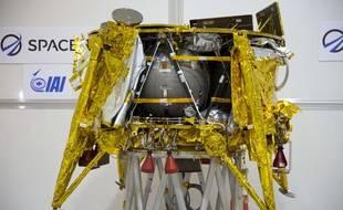 Le module lunaire israélien SpaceIL devrait se poser sur la Lune le 11 avril 2019.