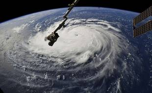L'ouragan Florence vu depuis la Station spatiale internationale, le 10 septembre 2018.