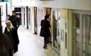 Le métro de Rennes, exploité par Keolis.