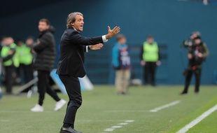 Roberto Mancini est le coach du Zenit Saint-Pétersbourg.