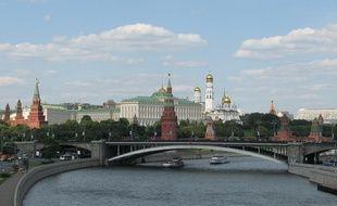Ville de Moscou, illustration