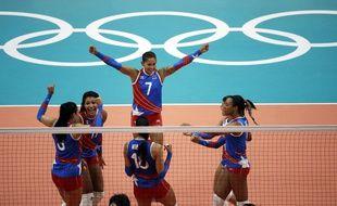 L'équipe portoricaine féminine de volleyball olympique