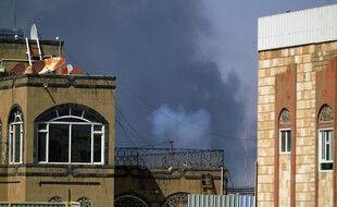 Ce dimanche à Sanaa, la capitale du Yemen.