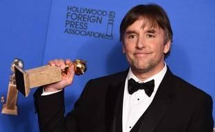 Le réalisateur Richard Linklater, récompensé aux Golden Globes, le 11 janvier 2015, pour son film «Boyhood».