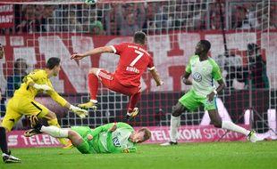 Le Bayern a galéré face à Wolfsburg