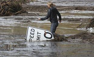 Des pluies torrentielles ont provoqué des coulées de boue meurtrières en Californie le 9 janvier 2018, notamment à Montecito, près de Santa Barbara.