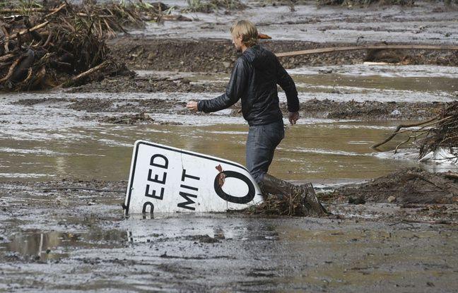 nouvel ordre mondial   Californie: Au moins 13 morts dans des coulées de boue
