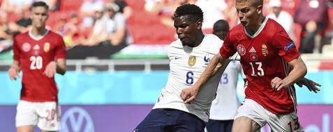 Pogba et les Bleus n'ont pas assumé le statut d'hyper favori de la rencontre