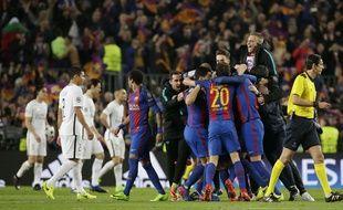 Les Parisiens sont éliminés de la Ligue des champions après leur incroyable défaite 6-1 sur la pelouse du Barça en 8e de finale retour de Ligue des champions, le 8 mars 2017.