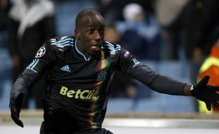 Souleymane Diawara, le 24 novembre 2010 à Marseille.