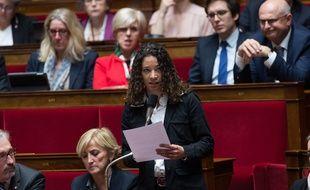 Aude Amadou à l'Assemblée nationale mardi dernier.