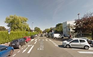 La rue de Barbieux, à Roubaix.